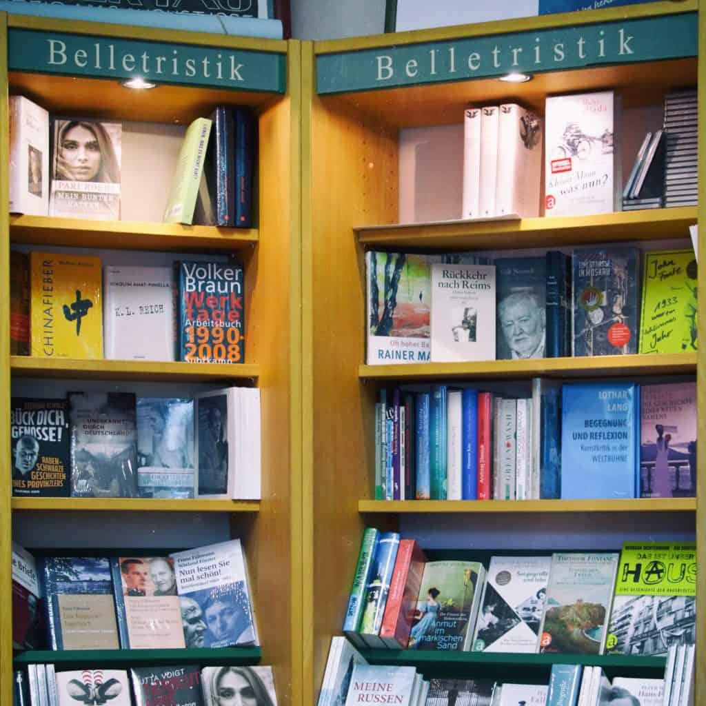 Literatur und Bildbände